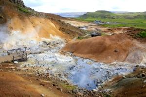 Seltun Volcanic Area Basin