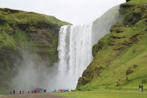 Mighty Skogafoss Waterfall