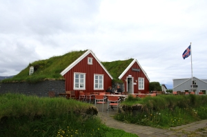 Cafe with Turf Roof