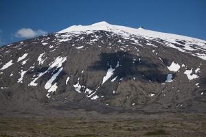 Close-up of Snaefellsjokull Glacier