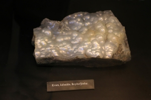 Mineral Chalcedony at Saeheimar Aquarium