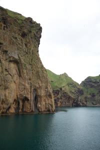 Cliffs at Entrance to Harbor