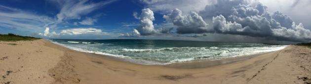 Dramatic Beach Sky