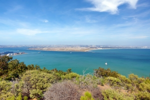 Beautiful View of San Diego from  Cabrillo National Monument