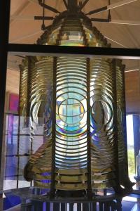 3rd Order Fresnel Lens In Lighthouse Museum