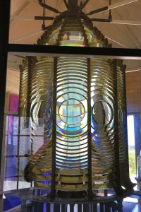 3rd Order Fresnel Lens In Lighthouse Museum