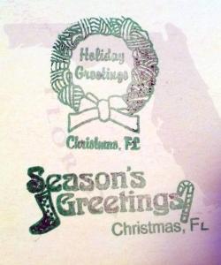 Christmas Postmark