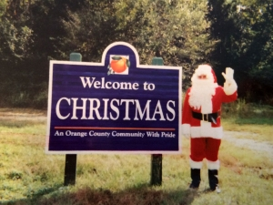 Welcome to Christmas Postcard