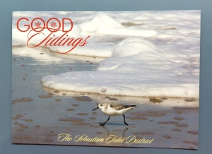 Our Photo on Sebastian Inlet Holiday Card 2015