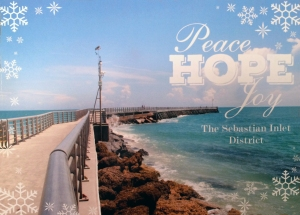 Our Photo on Sebastian Inlet Holiday Card 2016